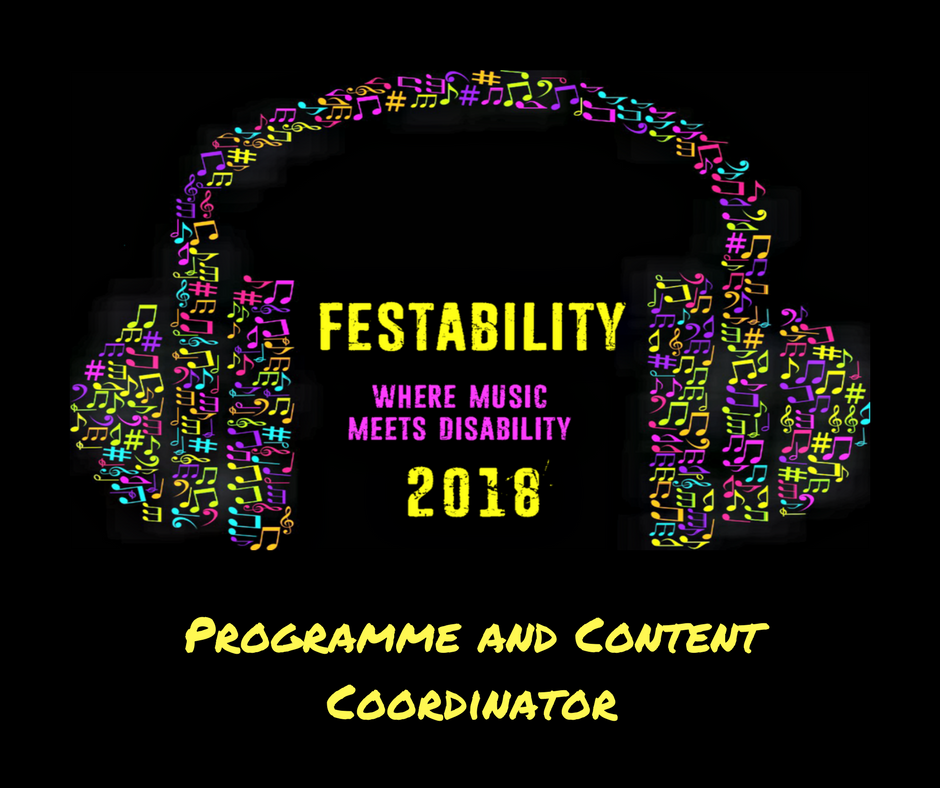 Festability - Programme and Content Co-ordinator