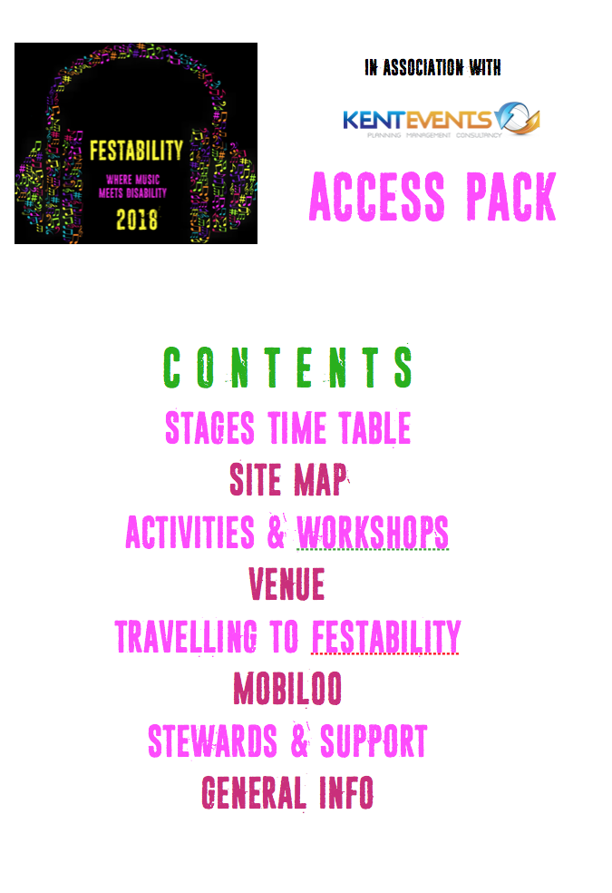 Festability - Access Pack
